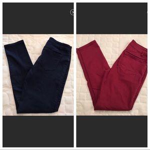 NYGARD Skinny Pants Lot (2)